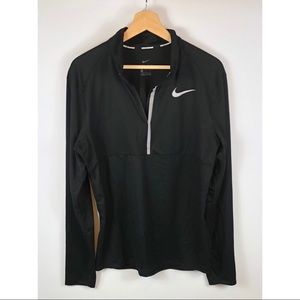 Womens Nike running 1/2 Zip pullover Medium